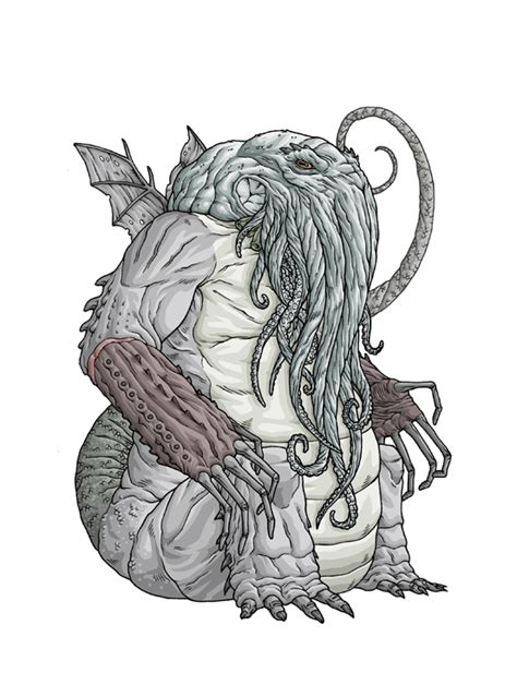 libro monsters a bestiary of artist draws every lovecraft creature the mary sue