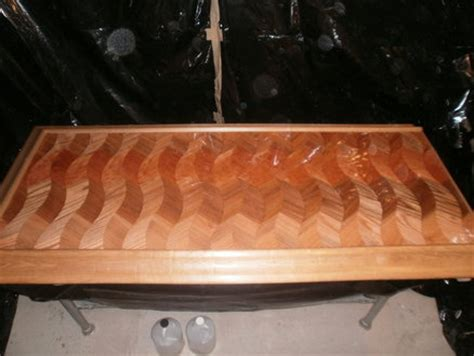 Bar Top Epoxy Reviews by Cheers To Patron An Epoxy Coated Bar Top By Sasmith