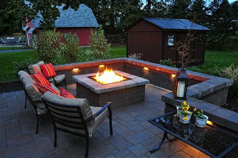 outdoor patio designs with pit images