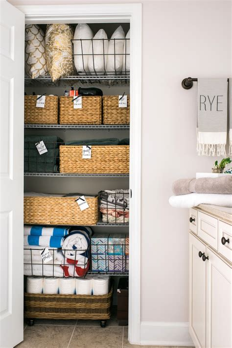 how to organize your linen closet how to reorganize your linen closet