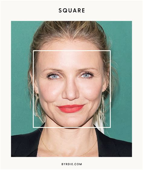 celebrities with square shaped faces how to figure out your face shape once and for all byrdie au