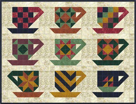 Friendship Quilt Pattern by Cup Of Friendship Quilt Pattern Sp 209 Advanced Beginner