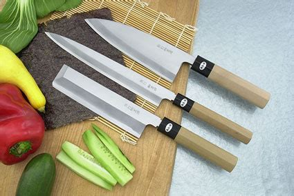 left handed kitchen knives the epicurean edge japanese and european professional