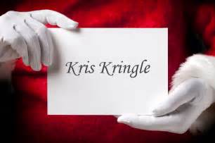 kris kringle for cancer research donate to charity