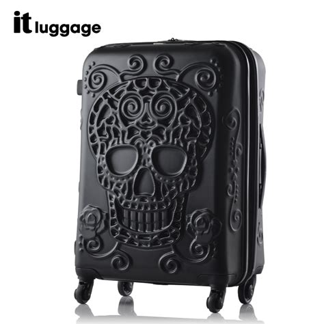 Cover For Travelling Suitcase Free Belt 1 buy brand osdy abs pc multi size aluminum frame