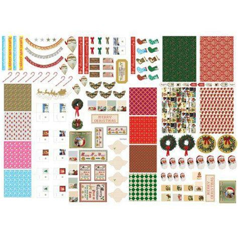 christmas dolls house the dolls house emporium christmas cut out sheet