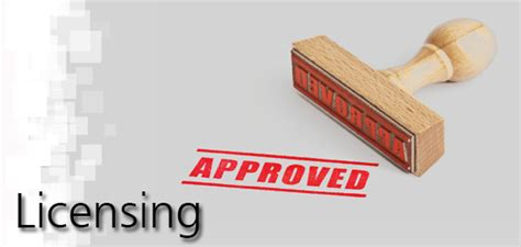service license licensing services offered branding marketing strategy