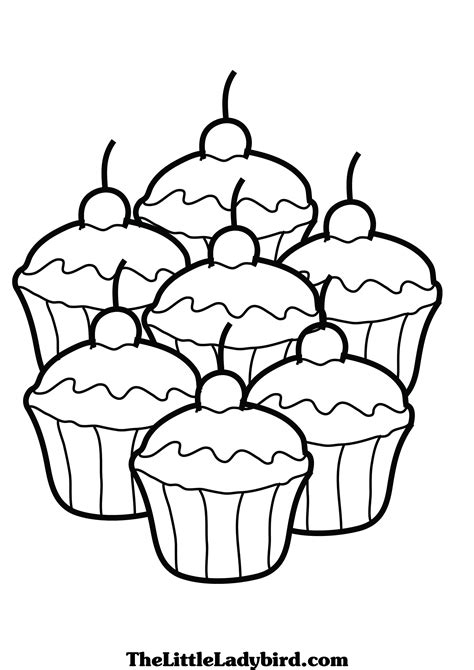 coloring pages of cakes and cupcakes cupcake coloring pages free coloring pages cup cake