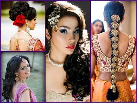 Indian Wedding Hairstyles For Thin Hair by 21 Best Indian Wedding Hairstyles