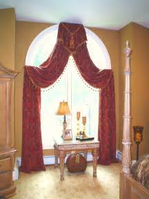 Arched Window Curtains Arched Window Treatment Window Treatments Drama