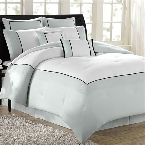 hotel 8 pc comforter bed set