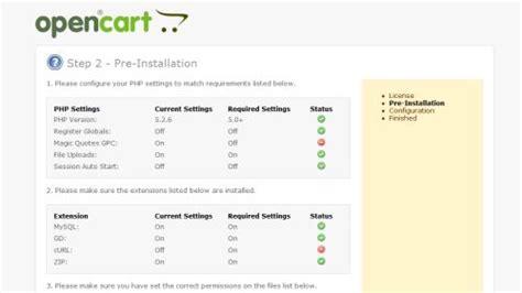 membuat database opencart membuat toko online dengan opencart informasi seputar radio
