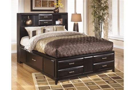 ashley queen bedroom set kira queen storage bed by ashley furniture house of bedrooms