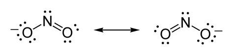 no2 lewis diagram image gallery nitrite ion