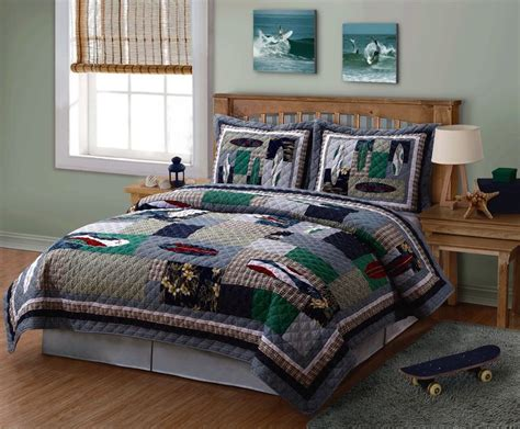 boy bed sets a teen or tween boy can ride the surf in his dreams with