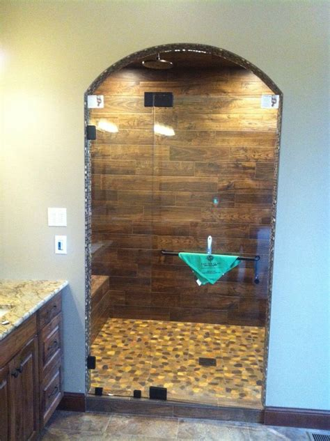 Wood Shower Door by 31 Best Images About Glass Shower Doors On