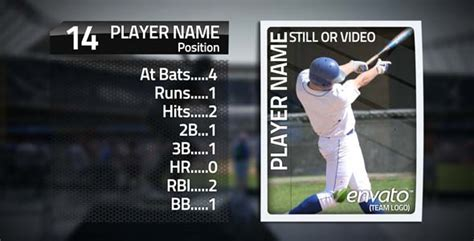 Sports Player Card Template by Card Fall By Rayrayato Videohive