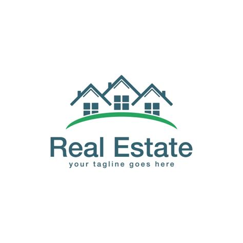 Real Estate Logo Templates real estate logo template vector free