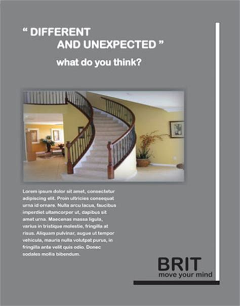 Interior Design Advertisements by Raquelia S Web Portfolio Print Design