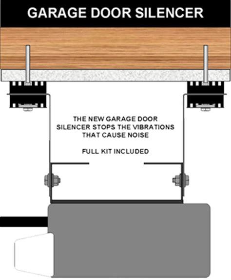 Garage Door Silencer by Garage Door Opener Soundproofing
