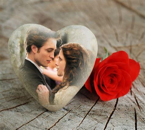 fotomontaje de mujer rodeada por un corazn de fuego hacer fotomontajes de amor en photomontager com