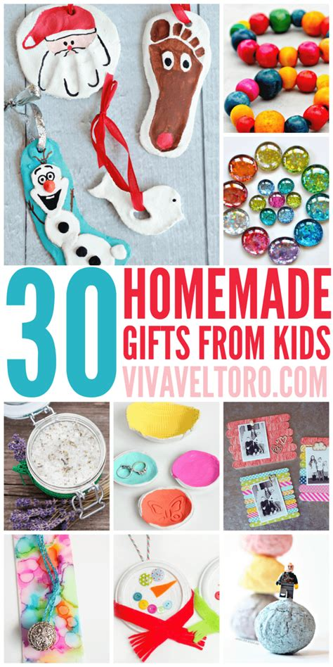 Handmade Gifts From Toddlers - 30 gifts from viva veltoro