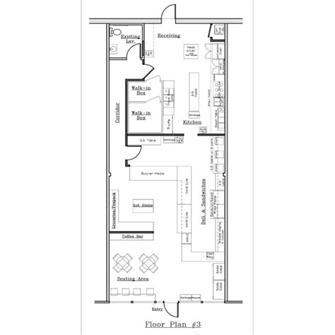 sandwich shop floor plan sandwich shop floor plan deli file floor plans jpeg