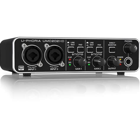 Soundcrad Behringer Umc 202 Hd behringer umc202hd 171 audio interface