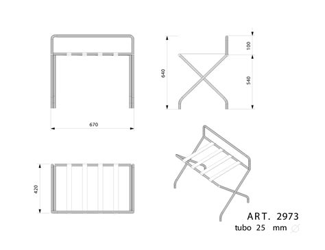 Rack Size by Luggage Rack Dimensions Search Technical Data