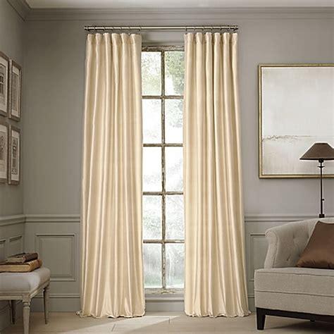 Window Curtain Shop Valeron Estate Silk Window Curtain Panel Bed Bath Beyond