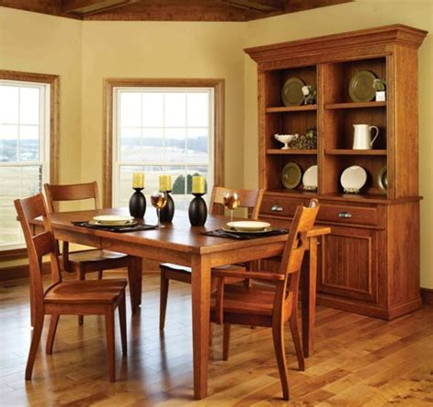 Amish Oak Dining Room Furniture Amish Traditional Dining