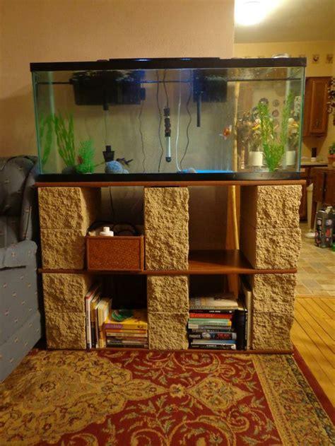muebles con ladrillos #1: 8f70431b523f61ab15d30f87d7617255--aquarium-ideas-aquarium-stand.jpg