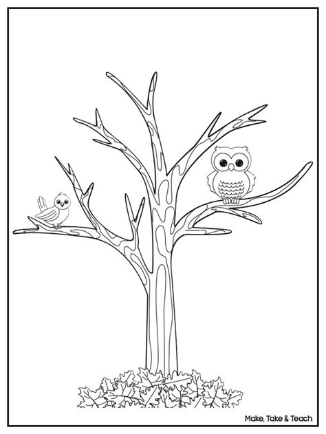 Best 25 Fall Coloring Pages Ideas On Pinterest Fall Fall Tree Coloring Page