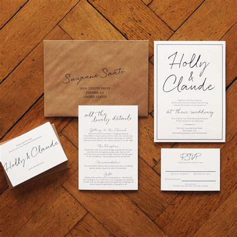 Original Wedding Invitations by East Coast Wedding Invitation And Save The Date By Feel