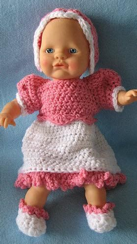 free 12 inch doll knitting patterns patternlinks children 187 doll clothes