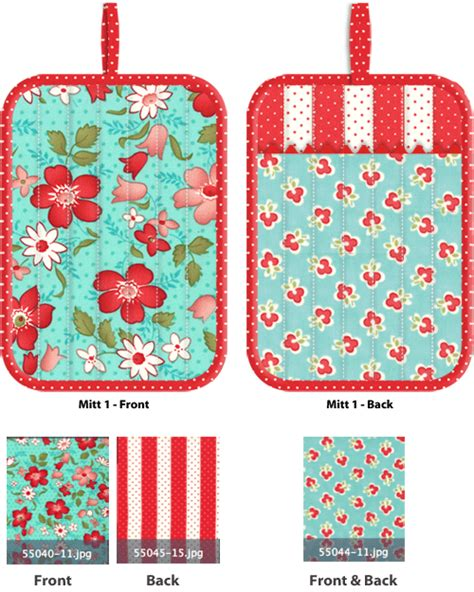 free pattern oven mitt kitchen confections in moda s vintage modern patchwork