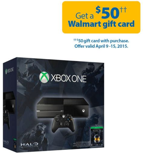 Walmart Ca Gift Card Online - walmart canada online offer get xbox one halo the master chief collection bundle for