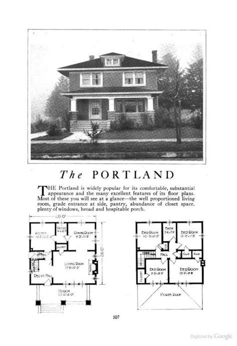 Prairie Style Home Plans New Craftsman Foursquare House Plans New Home Plans Design