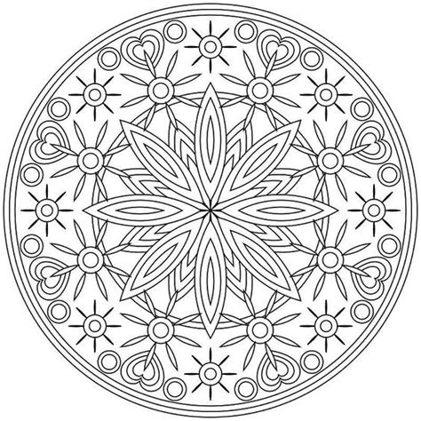 spiritual mandala coloring pages the world s catalog of ideas
