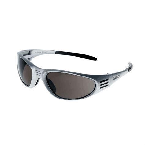 Dewalt Safety Glasses Ventilator Black Dewalt Ventilator Safety Glasses Silver Frame Smoke Lens