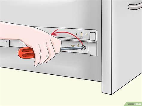 remove ikea drawer schubladen entfernen wikihow