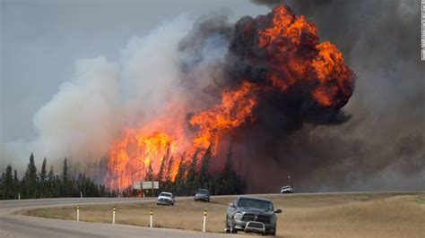 Wildfire At alberta wildfire welcome home fort mcmurray cnn