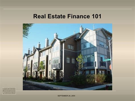 Real Estate Finance real estate finance for non real estate professionals2005