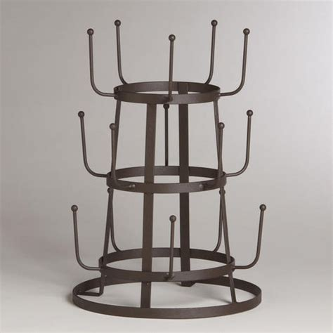 wire 3 tier glass drying rack products i