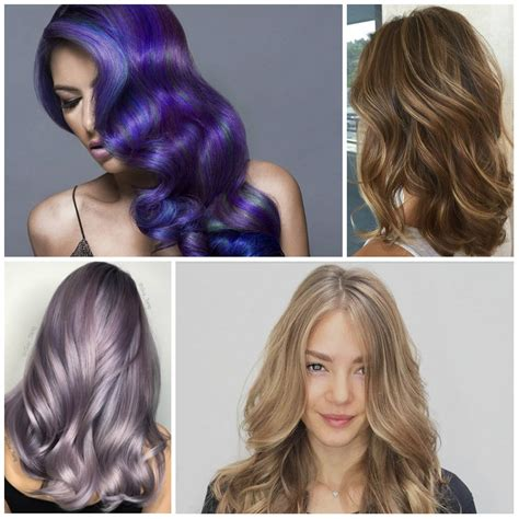 Hairstyles For Hair Color by Hair Color Trends 2017 Haircuts Hairstyles 2017 And