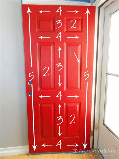 how to your to the door how to paint your front door hopefully the will stop so i can do this for the