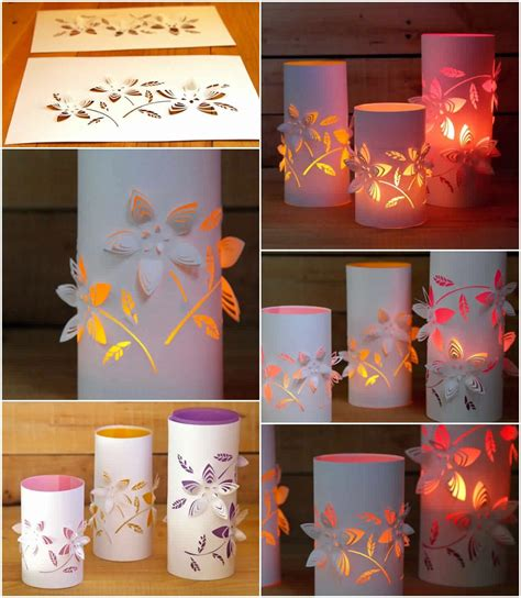Paper Lanterns Craft Ideas - diy dimensional paper lanterns diy craft projects