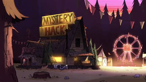 Mystery Shack Floor Plan by Mystery Shack Gravity Falls Wiki