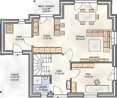 Haus 140 Qm Grundriss by Stadtvilla Mit Knapp 140 Qm Grundriss Vom Bauunternehmen