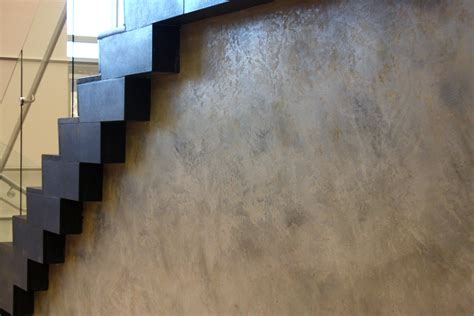 how to paint a faux concrete wall the concrete look without concrete arteriors